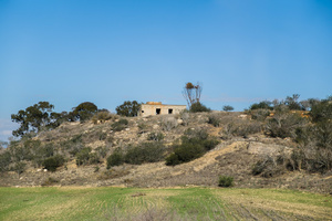 Turkish-Cypriot watchtower