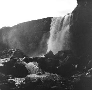 Icelandic Waterfall (Category - Fine Art)