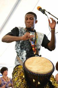 Akoma Drummers, Washington Folk Festival