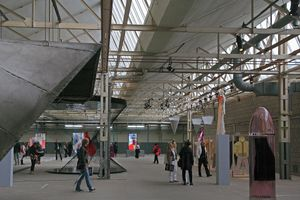 AKZO facility during Mode biennale 2011, overview