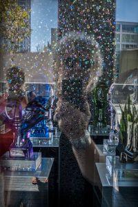 Self-portrait in Bubbles