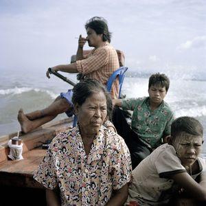 Moken fishing community, Anadaman Sea, Thailand.