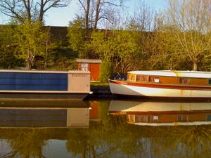 Bauhausboat And Older Neighbour