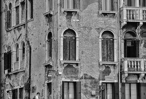 Typical Venetian houses