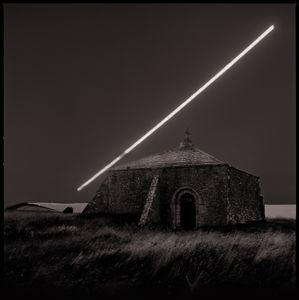 Moonrise | St Aldhelm's Chapel | Dorset England | August 2016
