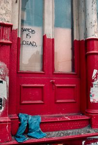 SAMO IS DEAD, SoHo, New York, NY, 1981 © Robert Herman