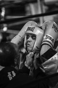 Boxer: Gleasons Gym, Brooklyn, New York