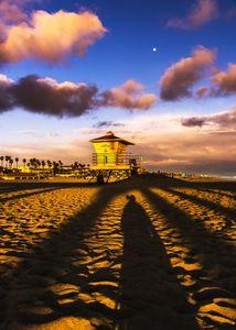 Sunset, Moon & Me