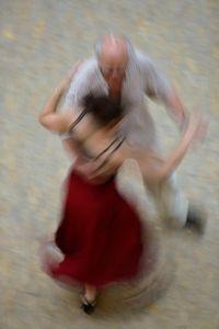 Mall of Berlin, Potsdamer Platz, tango dancers, august 2018, Nr. 10