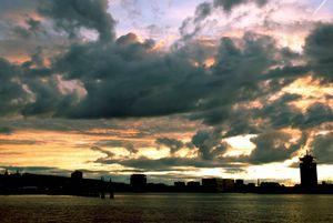 Dutch cloudscape Amsterdam