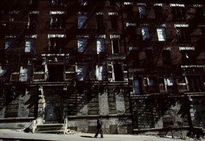 East 100th Street, 1986.