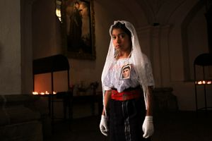 Penitente de la  Virgen Dolorosa