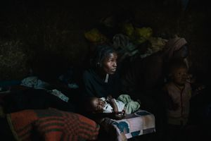 Tesfa, a blind single-mother living in Sabeta, Ethiopia, struggles daily to care for herself and her children.