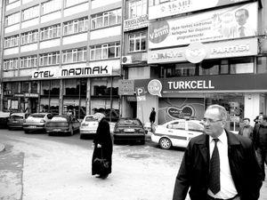 Madimak hotel in Sivas where happened the Madimak massacre of Alevis in 1993.