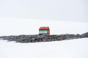 Hut - Dorian Bay, Wiencke Island, Antarctica