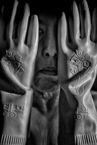 Hot Flash- Rubber Gloves