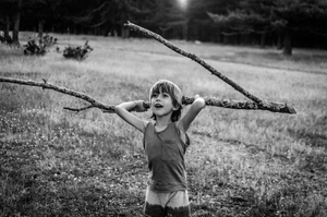 The boy and the branch