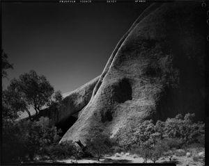 Northern wall of Kantju Gorge, Uluru, Central Australia