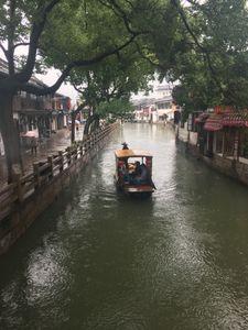 Rainyday in Zhujiajiao water town in Shanghai
