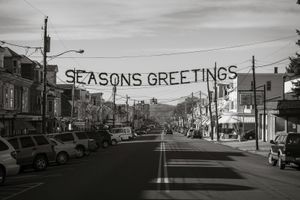 Seasons Greeting, Mahanoy City © Shaun O'Boyle