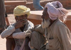 Gesichter Indiens - Rauchpause