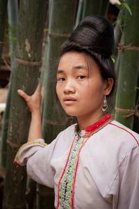 Khang lady in Lai Chau Province