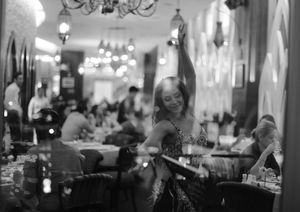 """© Nafise Motlaq - She performs """"belly dance"""" in an Arabian restaurant in Kuala Lumpur twice a week. """"I've received several awards for my latin dances but there is more job offer for belly dancers in Malaysia"""" she said."""