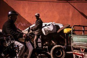 Marrakech Traffic diversity