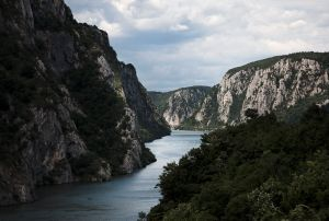 """The Iron Gate, a gorge on river Danube - SERBIA. From the series """"Where Europe ends"""" © Camilla De Maffei"""