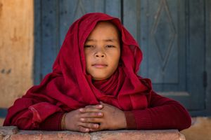 Monk from Bagan
