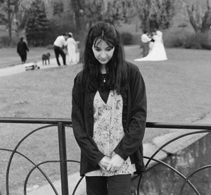 Eliza Clark, Writer, High Park, Toronto, 1994