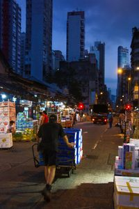The Fruit Market at Dawn