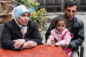 Cihat Morgül's family