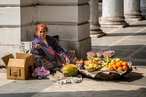 Fruit Seller, New Delhi