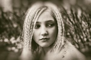 Girl With the Braids Series - Weeping Willow