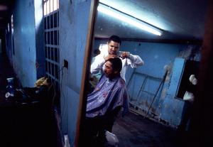 """Bogota,daily life into the central penitentiary """"La Picota""""."""