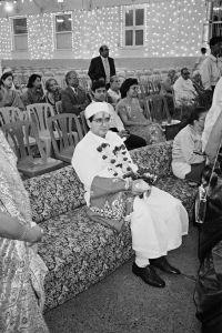 Groom, Parsi Wedding, Bombay, 1995