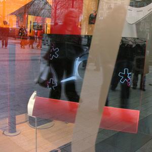 Window. Champs Elysées. Paris 2007