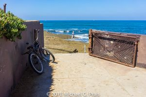Bike and Gate