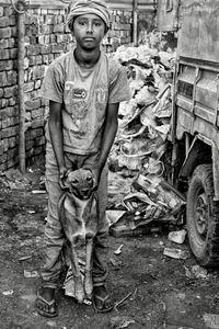 Rag Pickers' slum, New Delhi_3