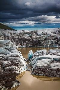 Svínafellsjokull glacier