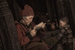 Kathmandu - The monk