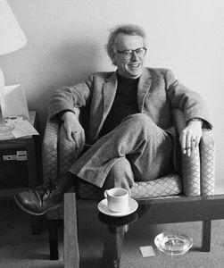Daryl Hine, Poet, Toronto, 1991