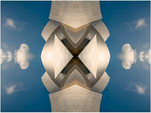 Alonzo Franklin Herndon AFLIC or Walt Disney Concert Hall & Fracto Cumulus Cloud I