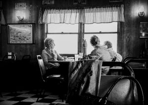One afternoon at the diner