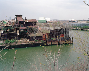 Newtown Metal Corporation from 200 Morgan Avenue, East Williamsburg, Brooklyn, looking north