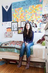 Dori in Her Apartment