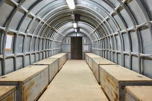 Chamaa HQ, Unifil Base. Bunker.