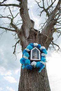 Chapel - dead tree