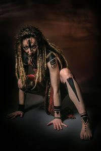 Woman warrior chief tribe 1